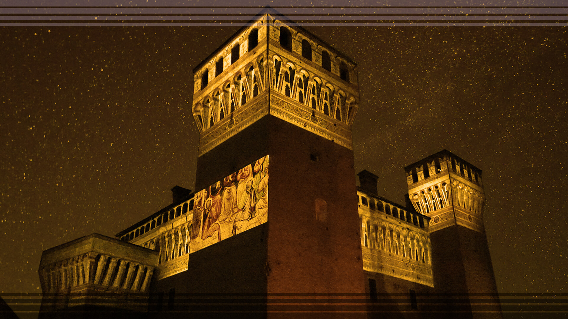 Projection mapping on ancient architectures