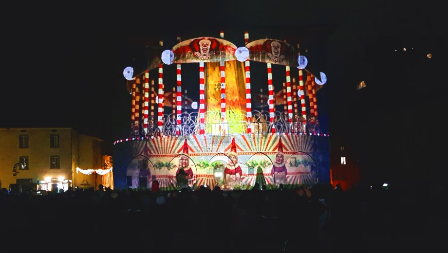 The dream is free @ M'illumino d'inverno // 3d video mapping